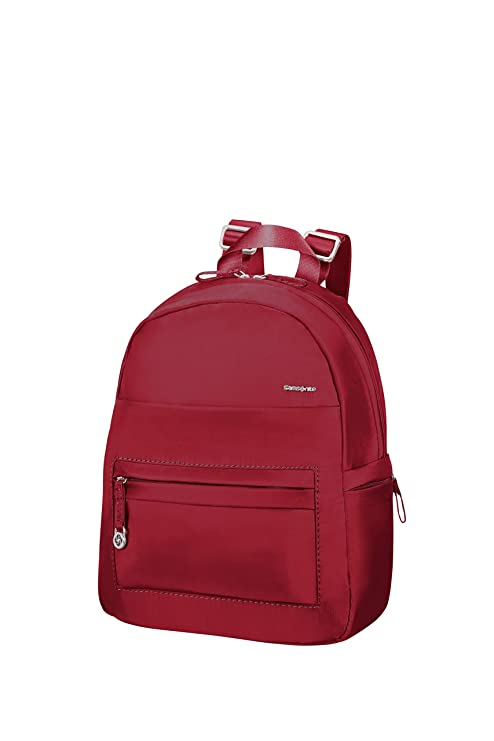 SAMSONITE - Move 2.0 Backpack, Mochilas Mujer, Rojo (Dark Red), 12.5