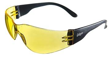 X Schutzbrille Für GetöntgelbKratzfest Und 8312Leichte Sicherheitsbrille FahrenJoggen Dräger BaustelleWerkstattFahrrad Pect K1clJF
