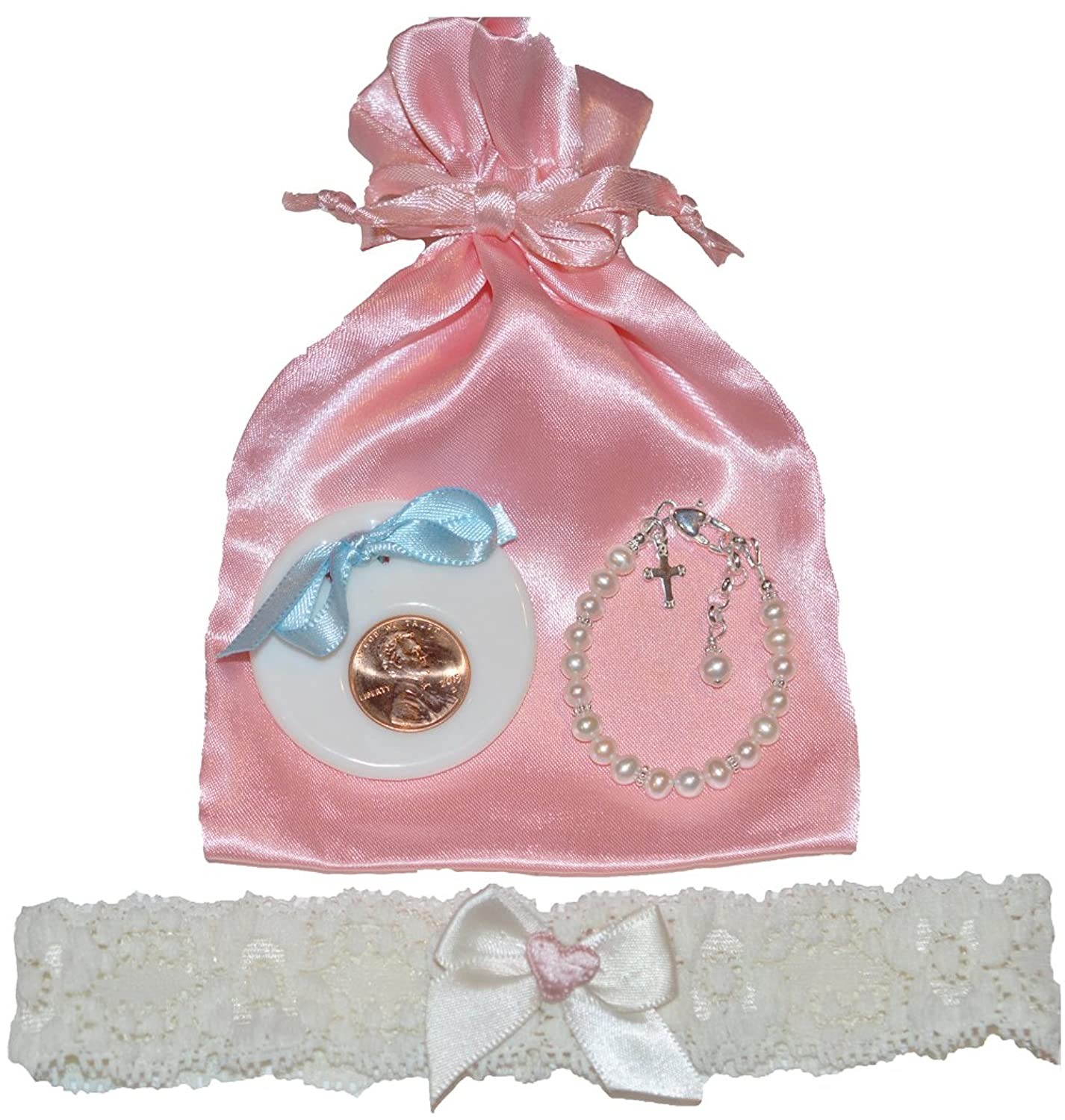 Amazon.com: Lily Brooke Baby Keepsakes To Bride Gift Set- Poem ...