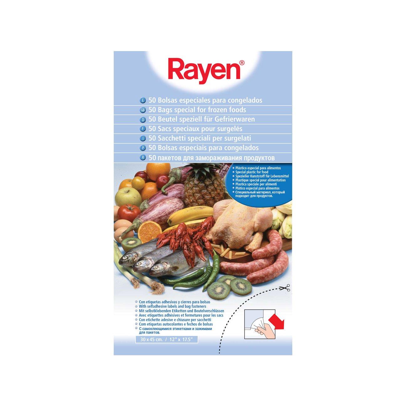 Rayen 6013 50 Bolsas para congelados, Centimeters