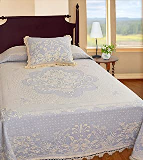 product image for Abigail Adams Matelasse Bedspread - Twin - French Blue