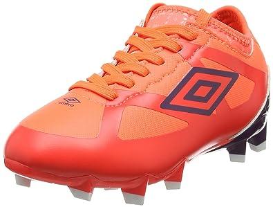 9844c790a9 Umbro Velocita III Premier HG-JNR, Chaussures de Football Mixte Enfant,  Multicolore (