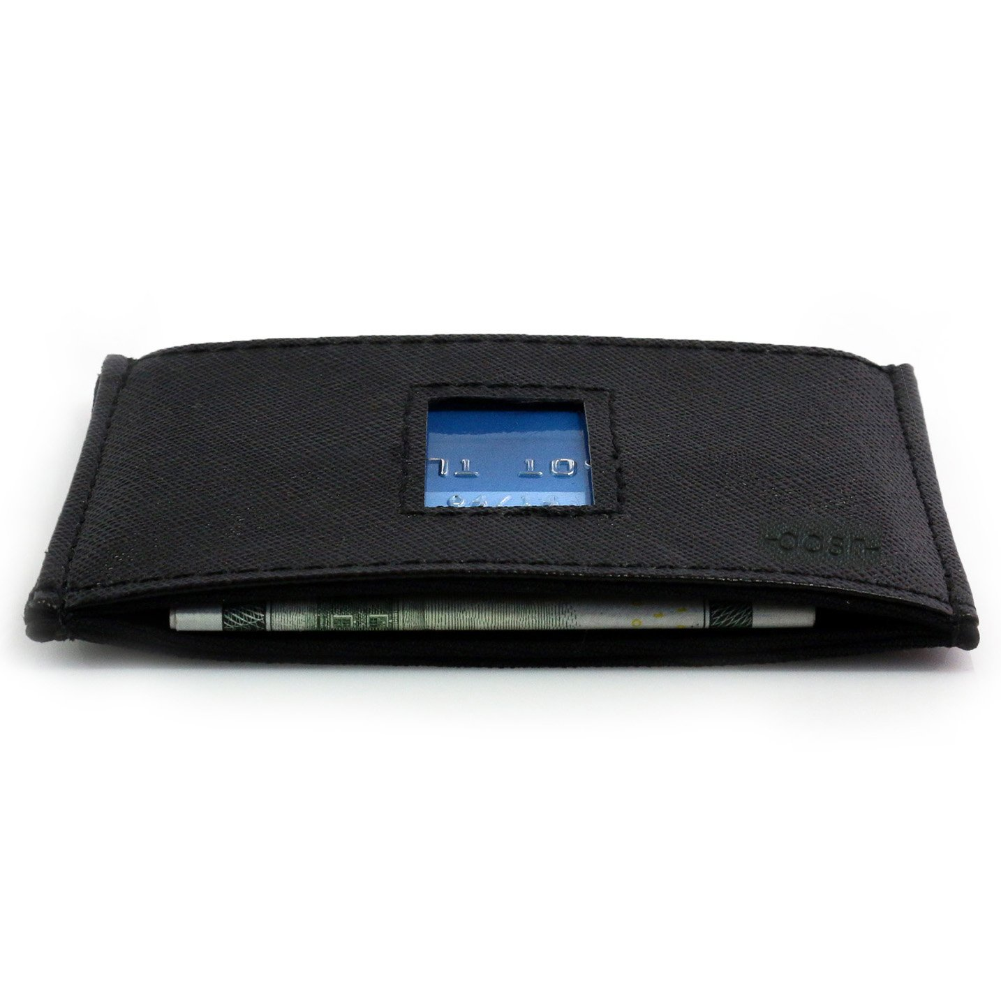 Dash Co. RFID Slim Wallet 4.0 for Men (RFID Horizontal Black) by Dash (Image #6)