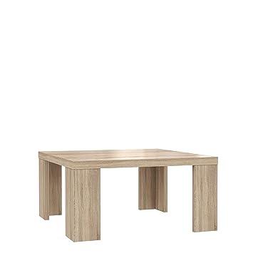 Newface Couchtisch Holz Sonoma Eiche Dekor 70 X 70 X 35 Cm