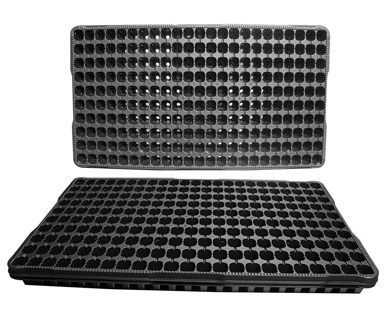 PlenTree 25 di plastica seminiere di partenza - Ogni Vassoio ha 230 Celle  Cellule Sono 0,75 Square X 0.66  Deep. Grandi propagazione Vassoi 230 Cells