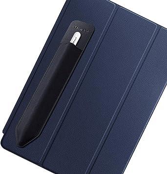 Funda para Apple Pencil, Bolsa de Lápiz Compatible con Apple Pencil (1st and 2nd Gen), Protector Bolsillo Elástico para Lápiz Manga Adhesiva Reutilizable para iPad Pro/iPad y más lápiz óptico, Negro: Amazon.es: