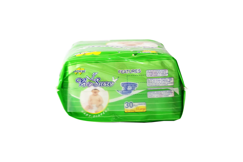 Buy Besure Babys Cotton Regular Diapers Xl 30 Pieces Online At