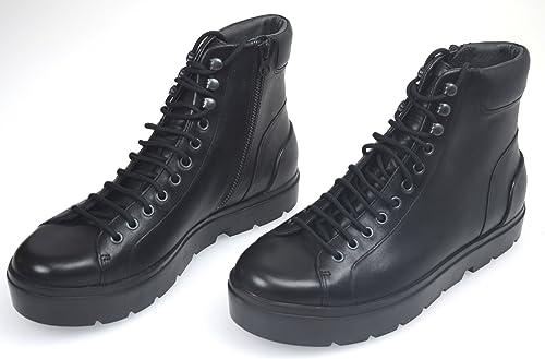 CAMPER Botines EN EL TOBILLOPARA Hombre Cuero Negro Art. K300041 41 EU - 8 USA Nero: Amazon.es: Zapatos y complementos