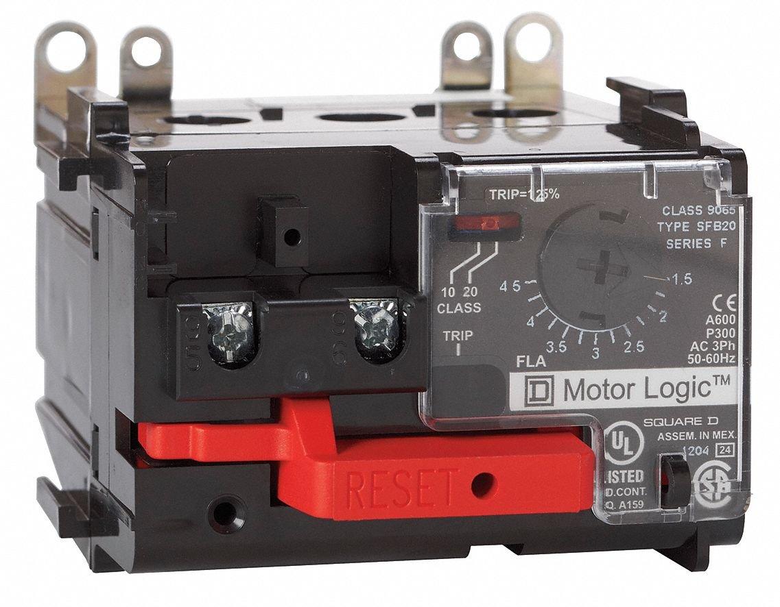 Electronic Nema Overload Relay Current Range 90 To 270a Square D Qo120gficp 20amp 1pole Gfci Circuit Breaker Size 1