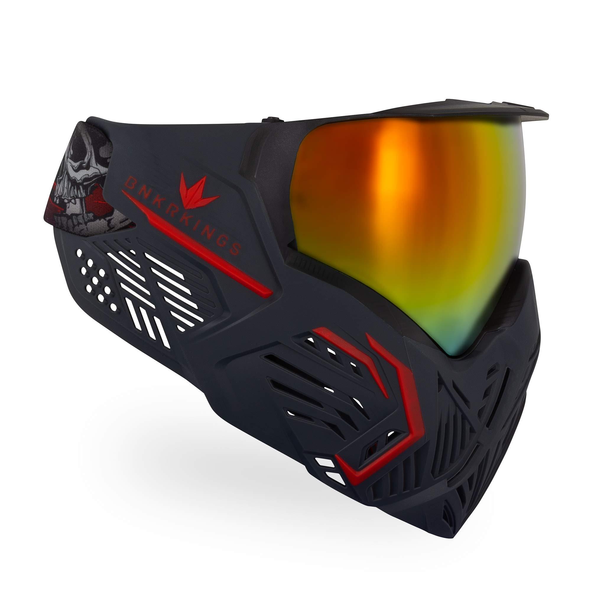 Bunker Kings CMD Paintball Goggle/Mask - Black Demon by Bnkr Kings