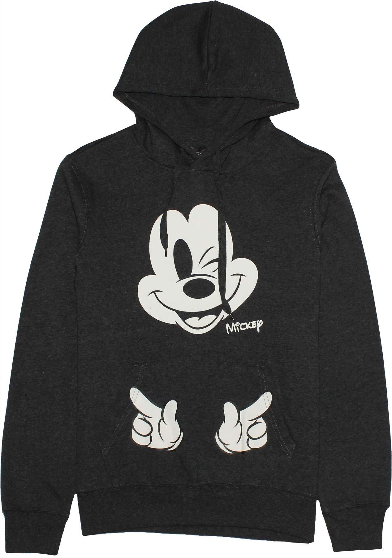 Disney Mickey Mouse Ladies Wink Hoodie Jumper