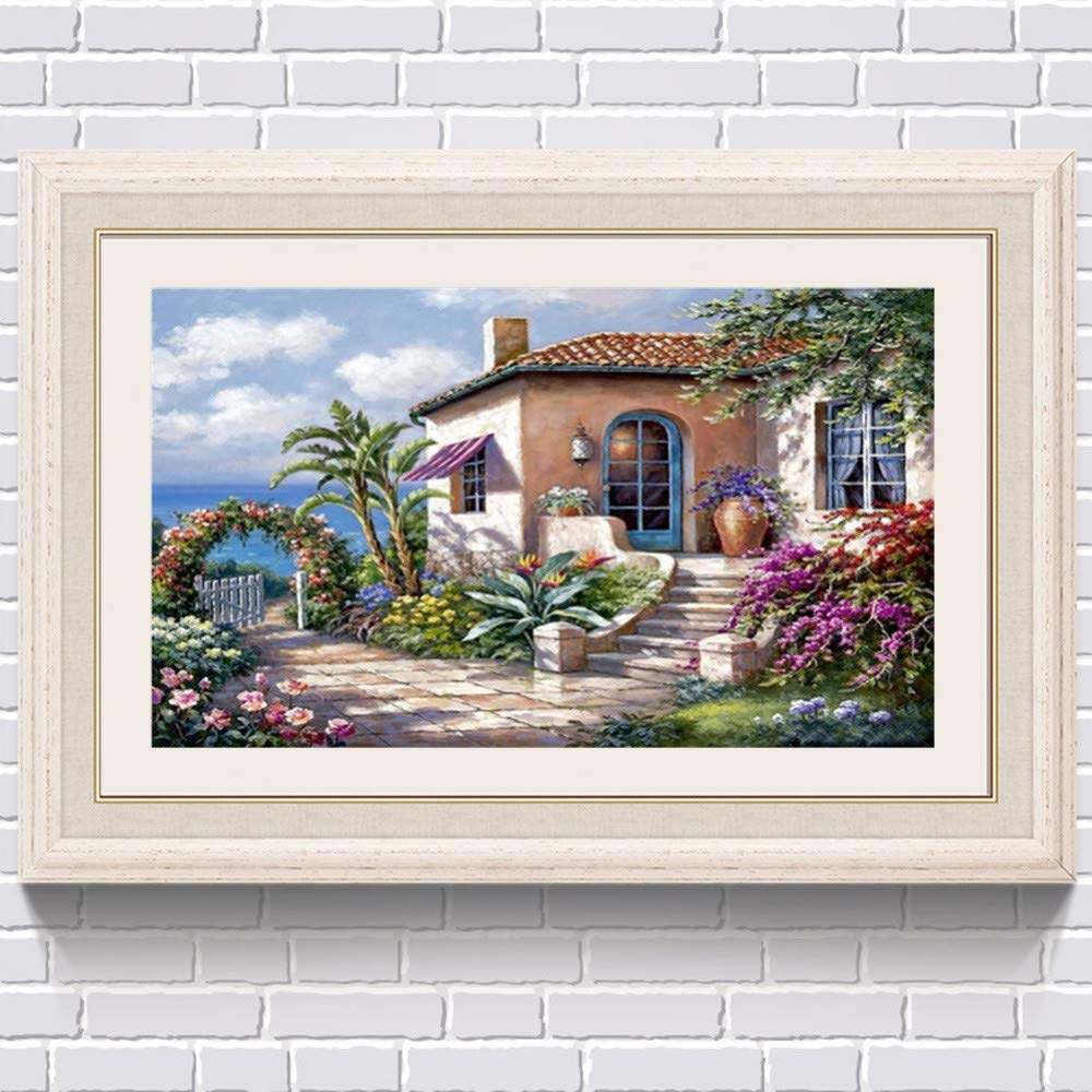 JiaMeng Decoración del hogar 5D Bordado Pinturas Rhinestone ...