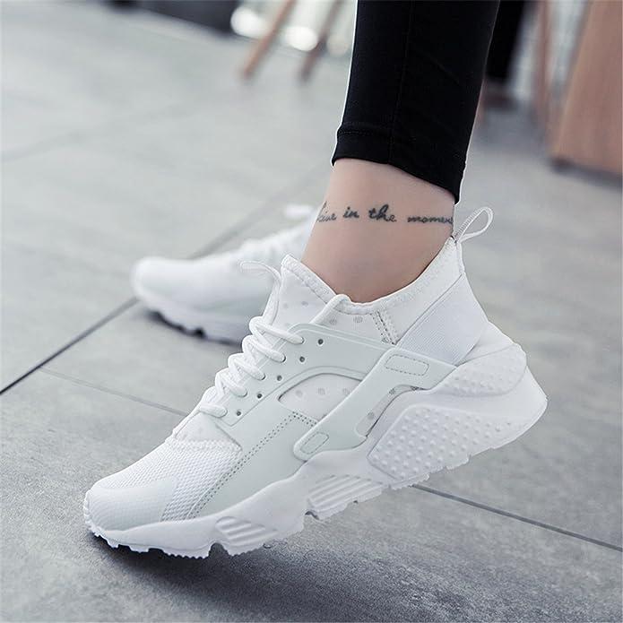 Amazon.com | Naomiky New Men Spring Summer Air Mesh Flat Shoes Tenis Masculino Esportivo Basket Female Mens Zapatillas Deportivas Hombre White 5.5 | Fashion ...