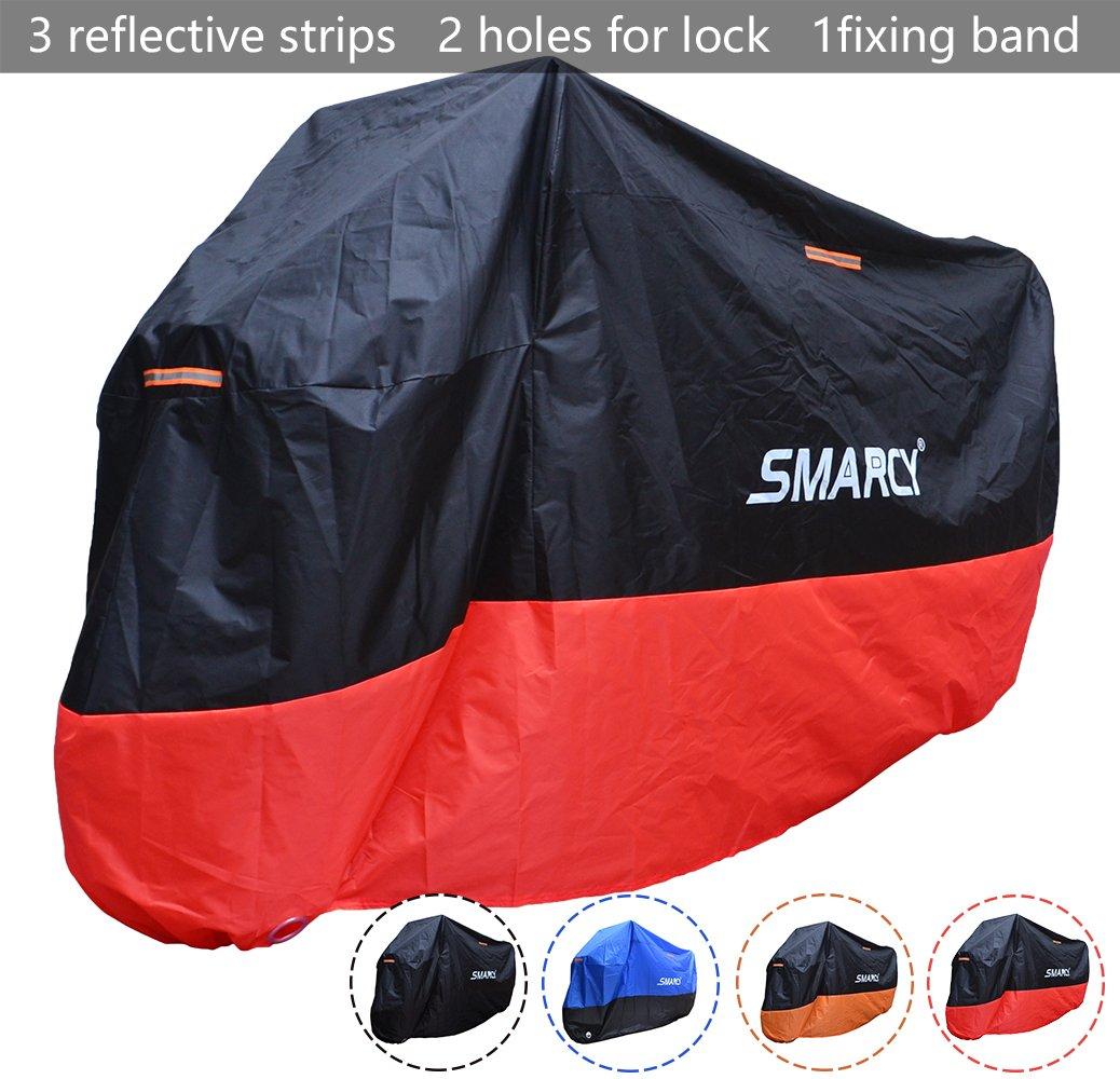 SMARCY® Housse de Protection pour Moto Rouge et Noir XXXL product image