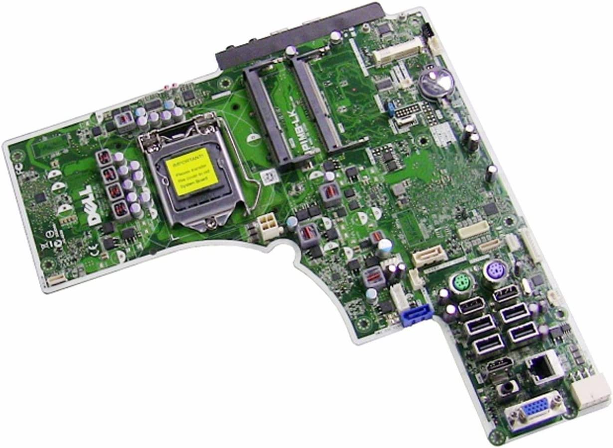 Dell Optiplex 9010 All in One Intel Q77 Express Chipset LGA1155 Socket DDR3 SDRAM 2 Memory Slots 8 USB Ports Motherboard 1WCY3 CRWCR 01WCY3 CN-01WCY3 PIMB-LK