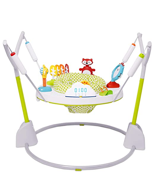Skip Hop Explore & More Baby Jumper: Fold Away Jumpscape with Bouncer Counter
