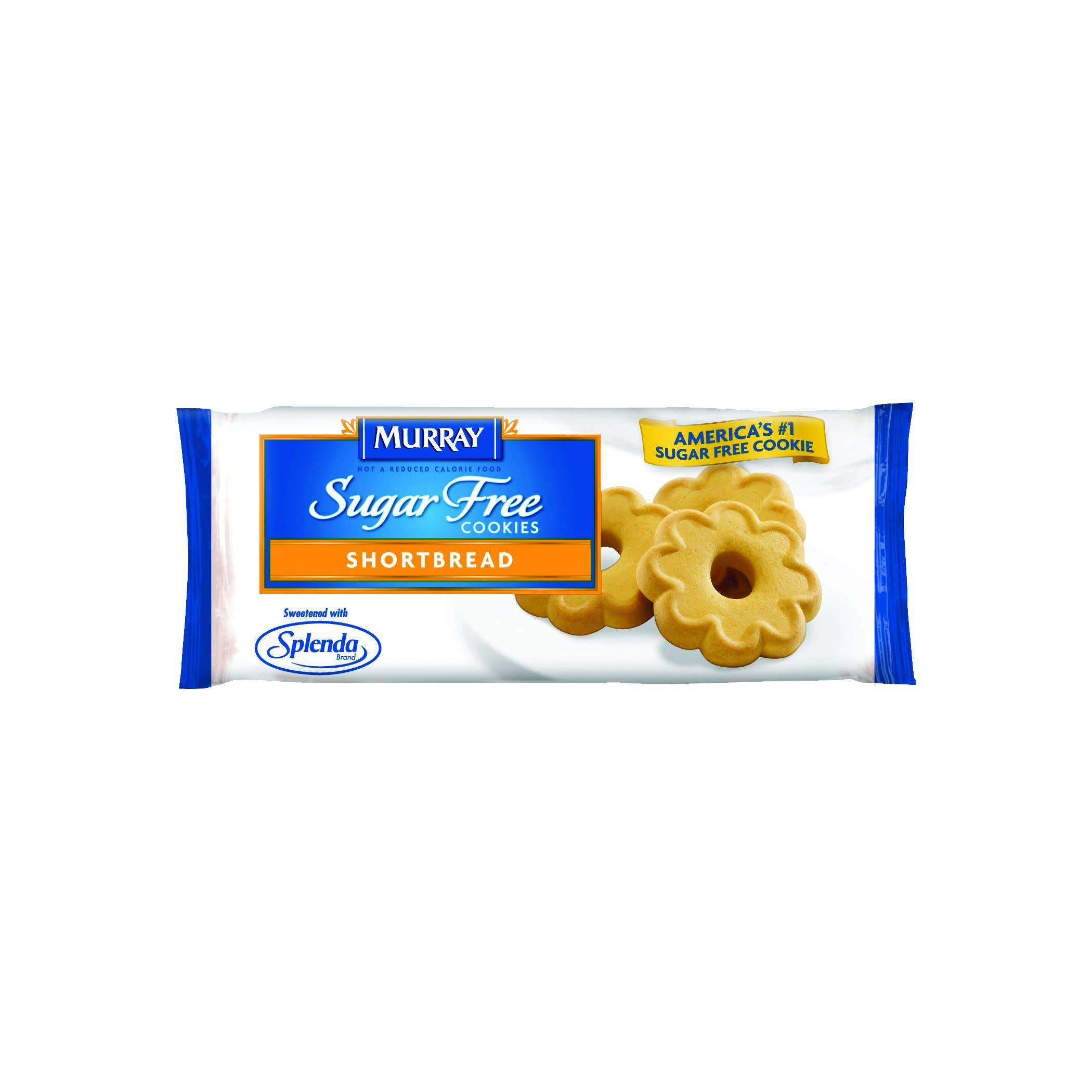 Murray Sugar Free Shortbread (8-Count) Cookies, 1.06-Ounce Single Serve Packs (Pack of 120) (Packaging May Vary)