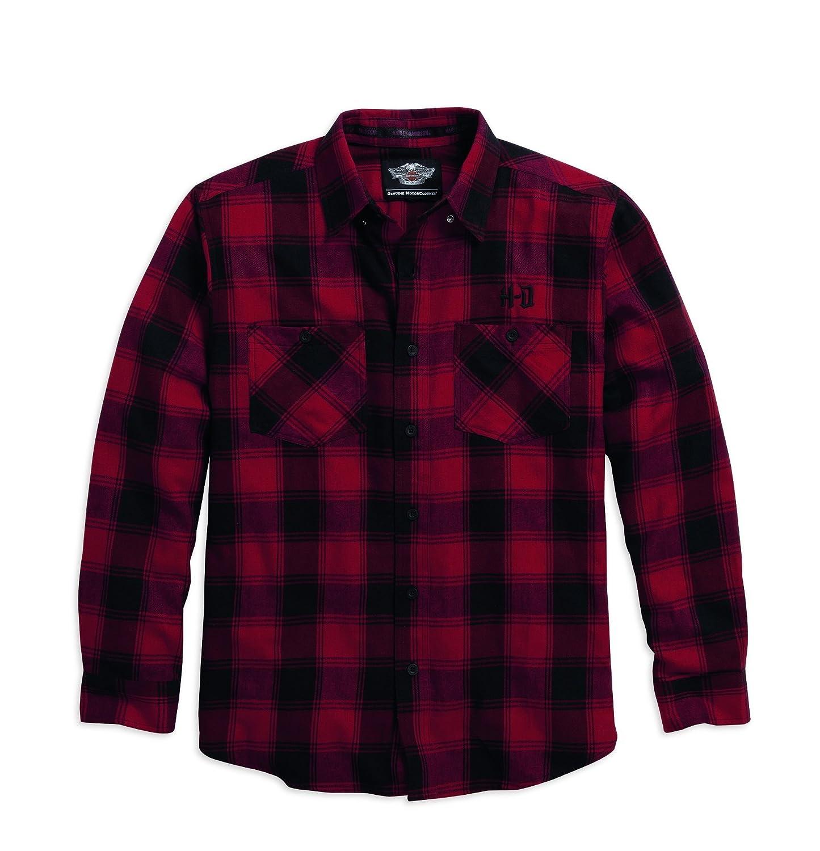 Harley-Davidson Plaid Flannel Shirt Winter 96081-16VM Herren Shirt