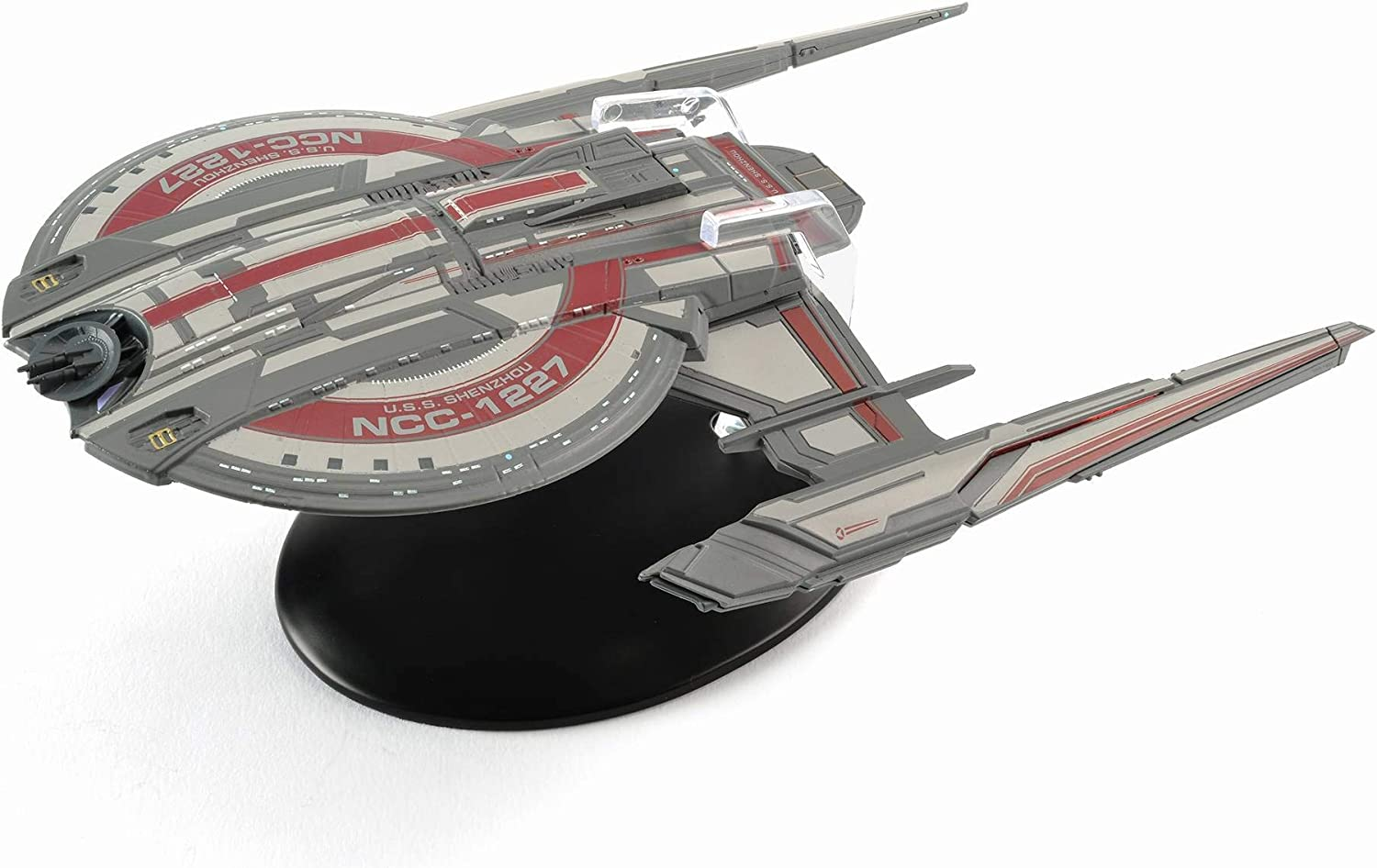 Star Trek: Discovery - USS Shenzhou, NCC-1227 model with magazine