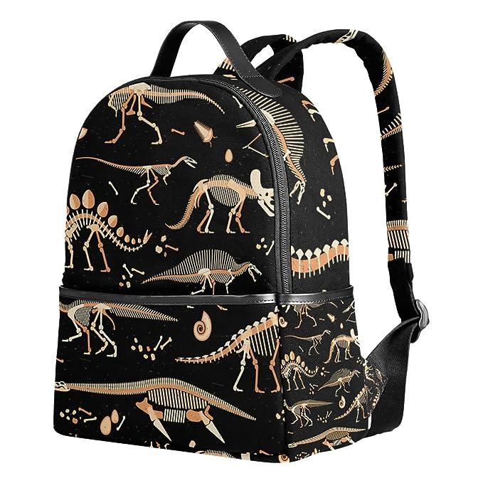 Amazon.com | School Backpack for Teen Boys Girls Dinosaur Skeleton Students Bookbags | Kids Backpacks