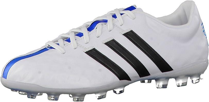 adidas Adipure 11Pro TRX AG, Bota de fútbol, White-Black ...