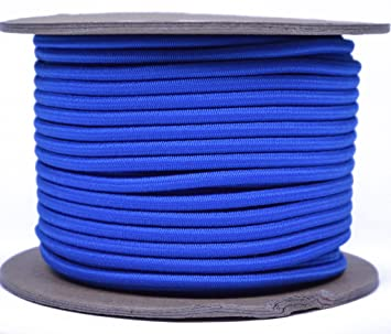 "Royal Blue 1/8 ""shock Cord – Bored Ossian de paracaídas/cuerda"