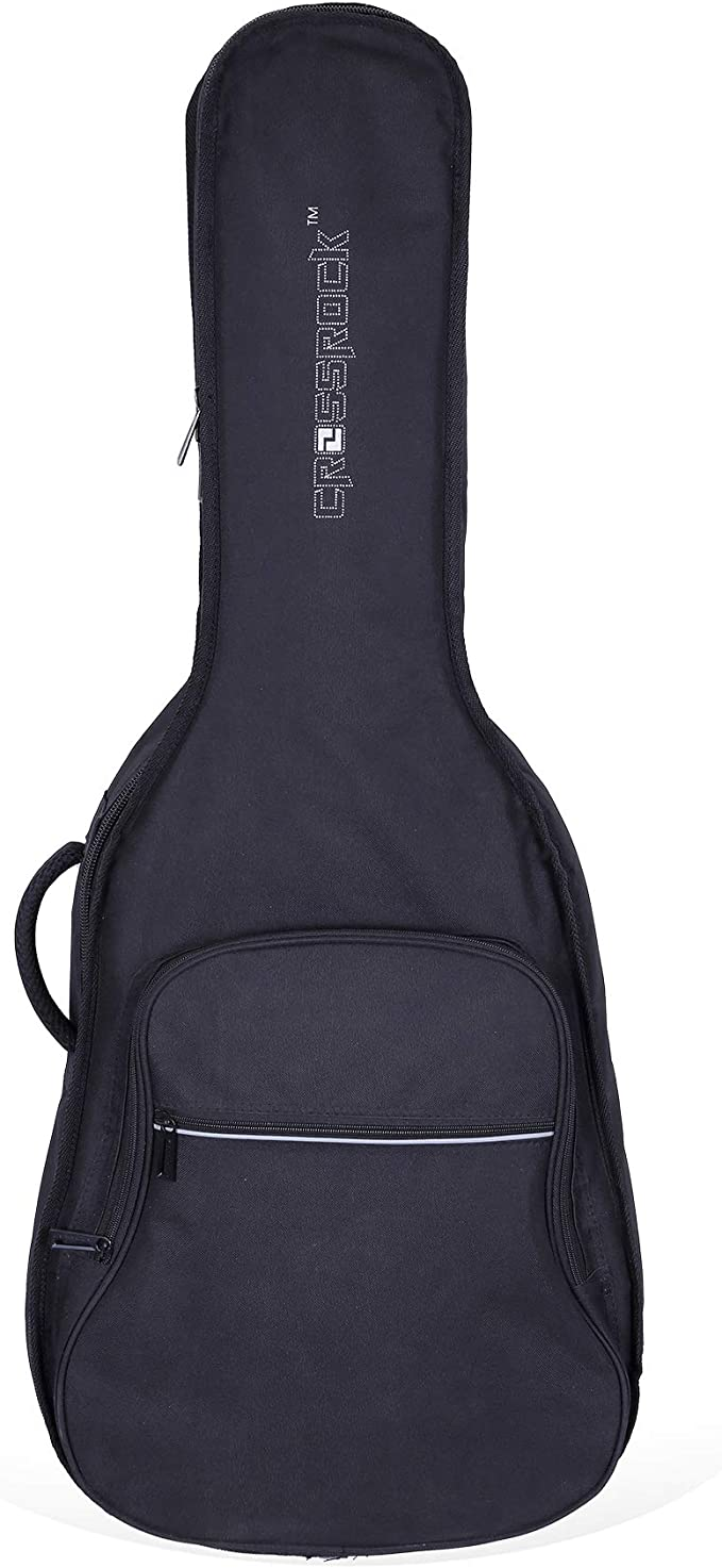 Crossrock 10mm Padded Backpack style 4//4 Classical Guitar bag CRSG107CDG