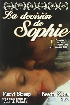 La Decisión De Sophie [DVD]: Amazon.es: Meryl Streep, Kevin Kline ...