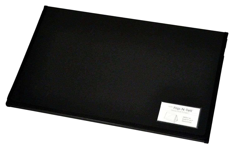 20-Pocket 1 Easel Display Book 39011-H 11 x 17 Inches Horizontal Lion Flip-N-Tell Display Book-N-Easel