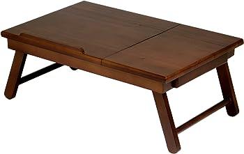 Winsome Wood Alden Lap Desk Tray w/Drawer