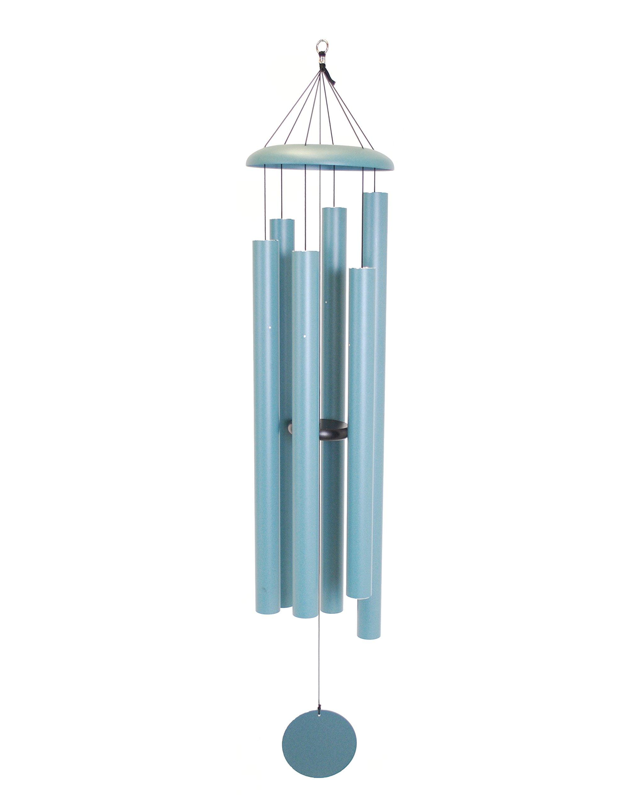 Corinthian Bells 65-inch Windchime, Patina Green