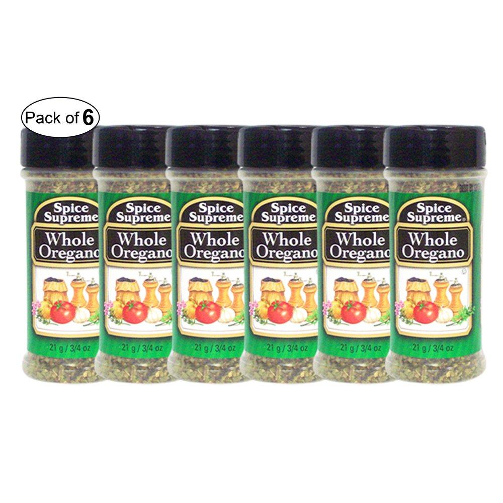 Spice Supreme- Whole Oregano (21g) (Pack of 6) by Spice Supreme ®