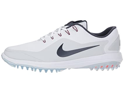 c2d9fdf22f7f Image Unavailable. Image not available for. Color  Nike Lunar Control Vapor  2 Spikeless Golf Shoes 2018 White Thunder Blue Pure Platinum