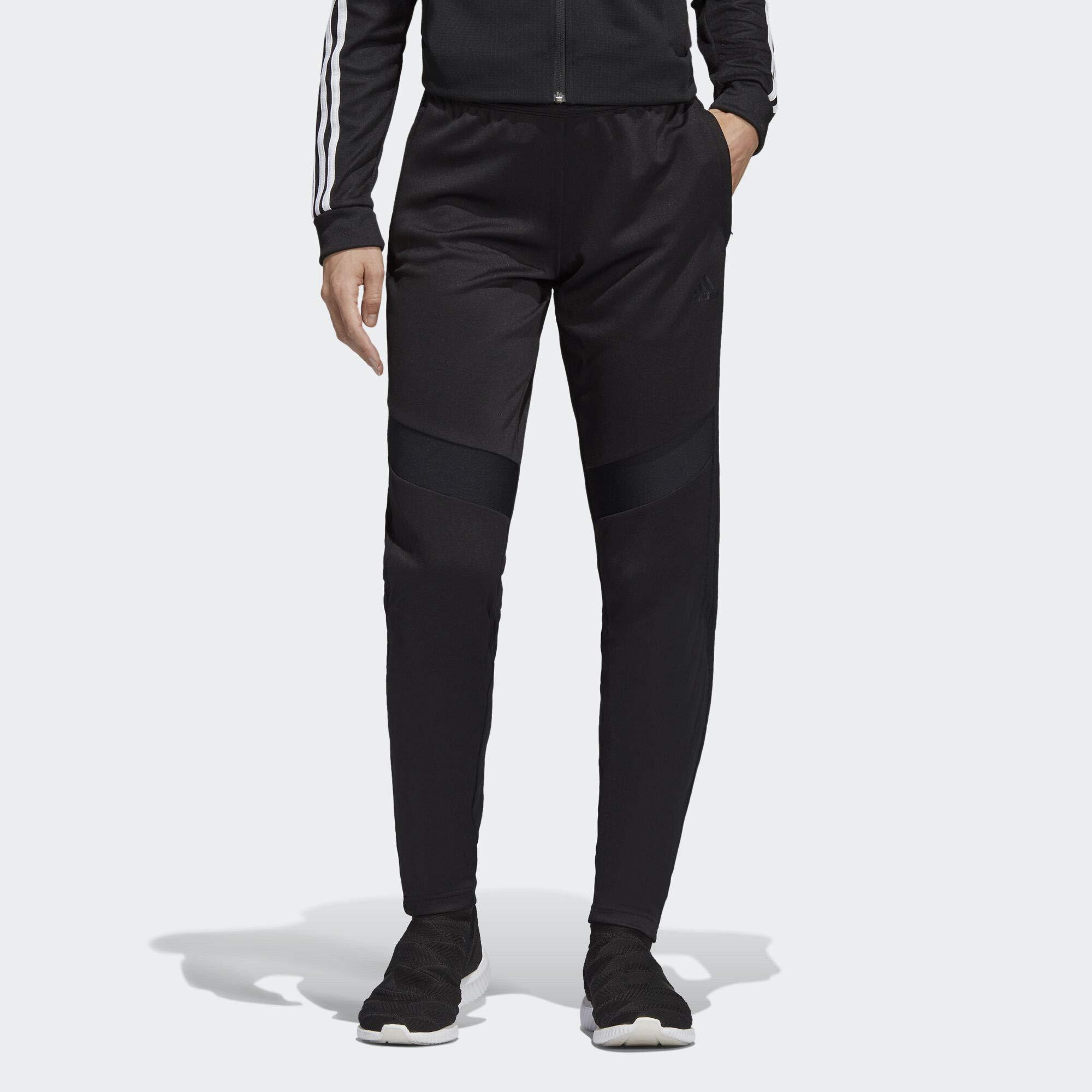 adidas Women's Soccer Tiro 19 Training Pant, Black/Black, X-Large by adidas