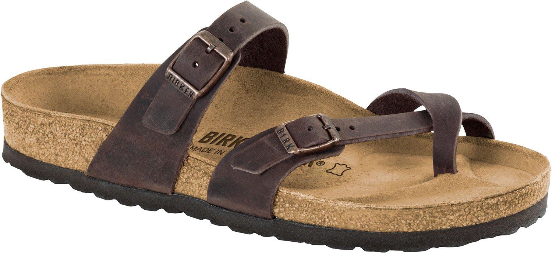 Birkenstock Women's Mayari Adjustable Toe Loop Cork Footbed Sandal Havana 37 M EU
