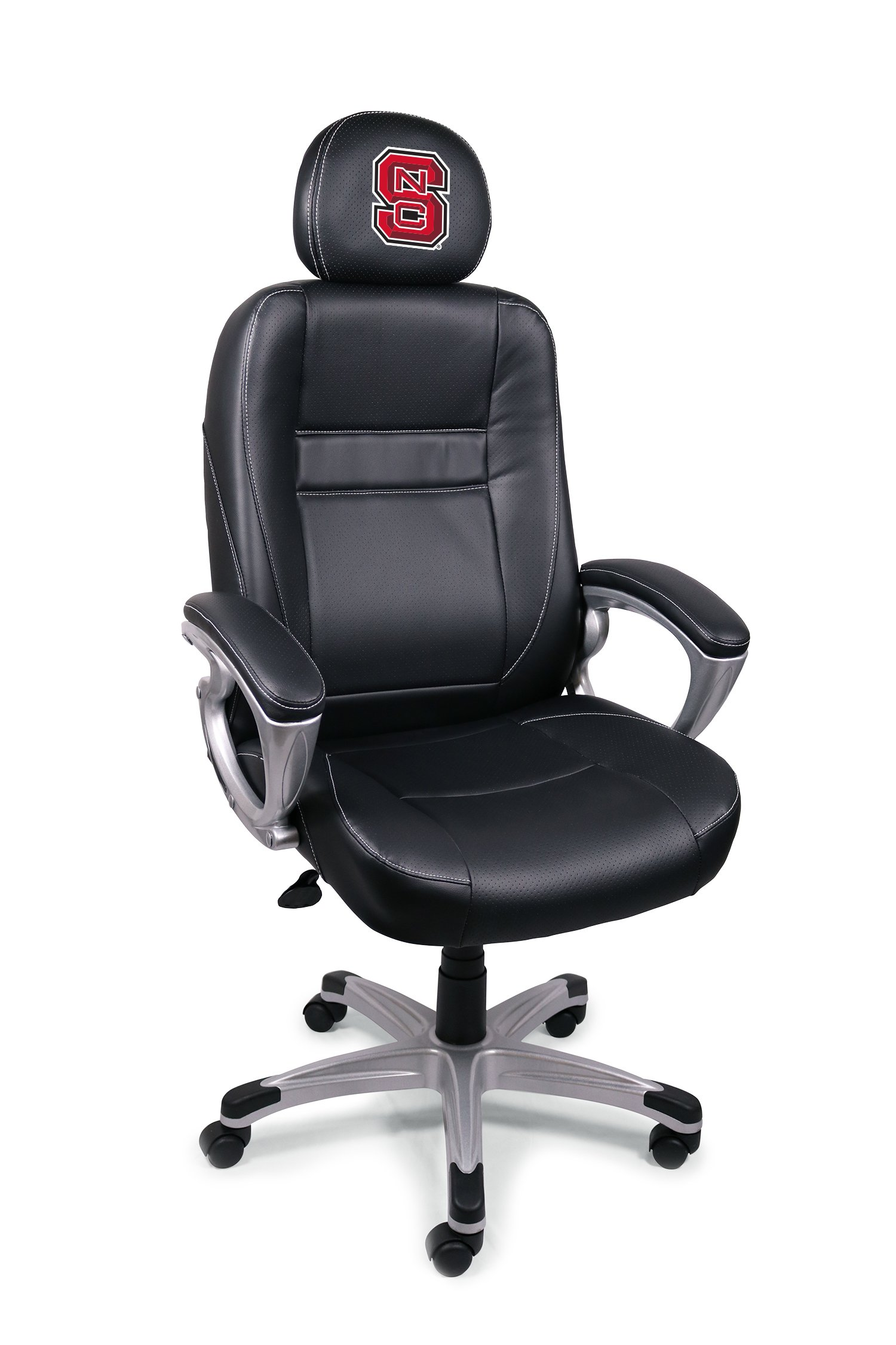 NCAA College North Carolina State Wolfpack Leather Office Chair