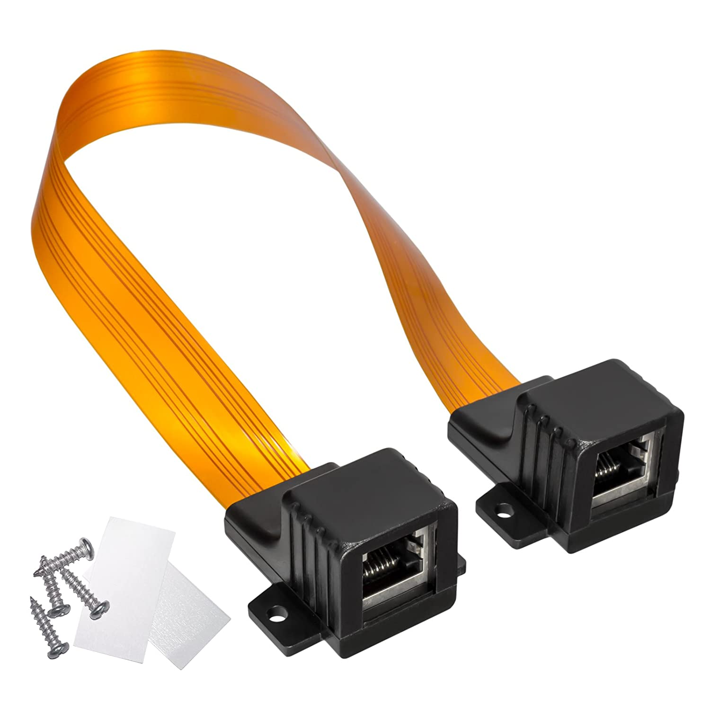 HB Digital LAN Ethernet RJ45 Fensterdurchführung: Amazon.de: Elektronik