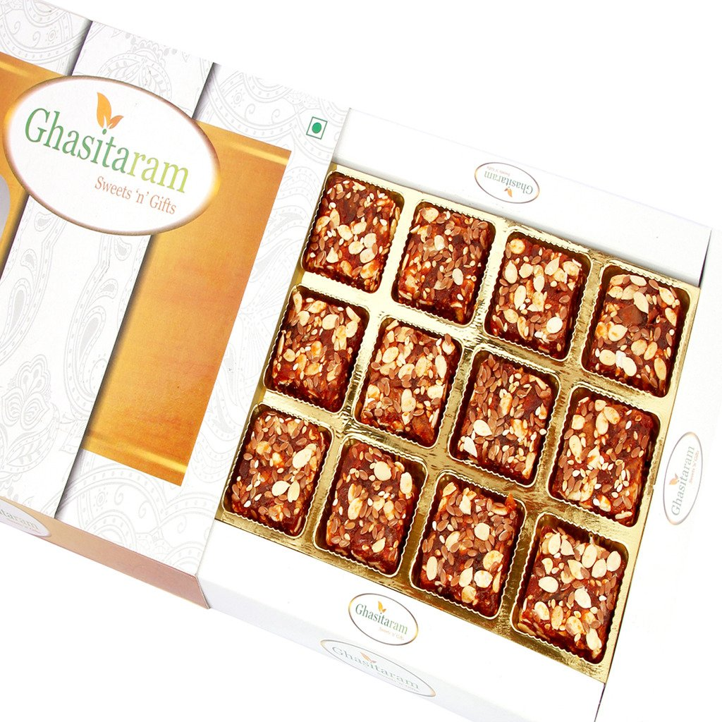 Mothers Day Gifts- Ghasitaram Gifts Sugarfree Healthy Energy Cereal / Seeds Anjeer Bites