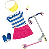 Our Generation 18-inch Cute to Scoot Deluxe Doll Outfit