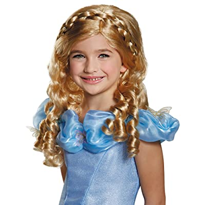Disguise Cinderella Movie Child Wig Costume: Toys & Games