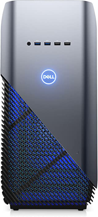 Dell Inspiron 5680 Gaming Desktop - 8th Gen. Intel Core i7-8700 6-Core up to 4.60 GHz, 16GB DDR4 Memory, 256GB SSD + 1TB SATA Hard Drive, 8GB Nvidia GeForce GTX 1070, Windows 10 Pro, Recon Blue