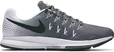 finest selection 034a5 59d84 Image Unavailable. Image not available for. Color  Nike Air Zoom Pegasus 33  Dark Grey Black White Womens ...