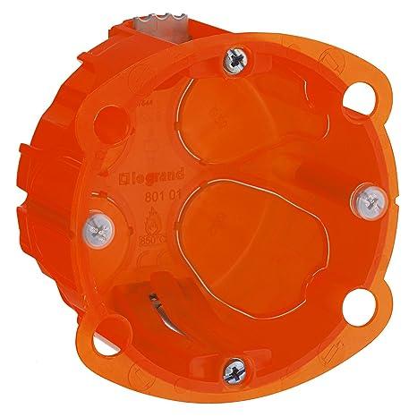 Legrand Batibox LEG90501 - Caja de empotrar (1 elemento, varios materiales, 40 mm