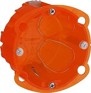 Legrand Batibox LEG90501 - Caja de empotrar (1 elemento, varios materiales, 40 mm de profundidad): Amazon.es: Bricolaje y herramientas