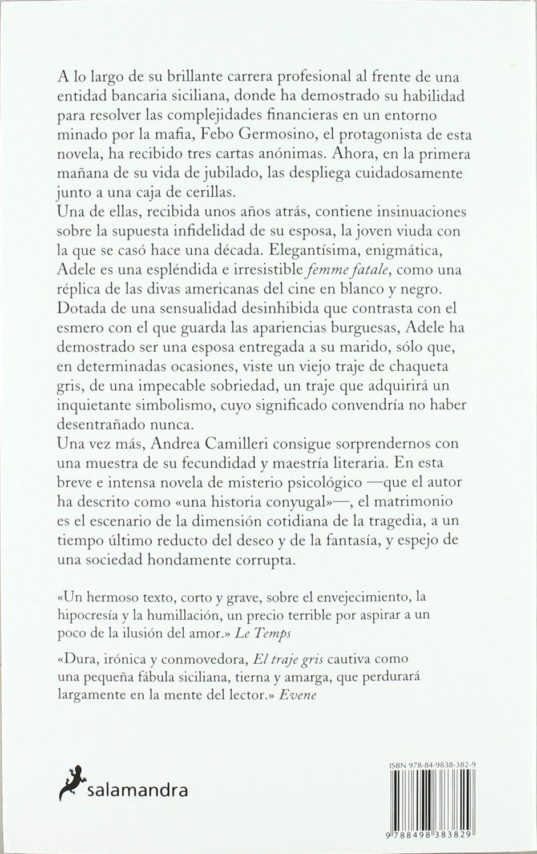 Traje Gris, El (Spanish Edition): Andrea Camilleri ...