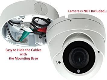 CCTV Deep Base Junction Box Security Systems Camera Outdoor