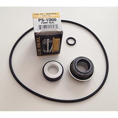 Polaris PB4-60 Booster Pool Pump Seal, Volute & Shaft O-Ring Leak Repair Kit: Kitchen & Dining