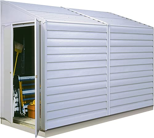 Arrow Yardsaver Compact Galvanized Steel Storage Shed with Pent Roof