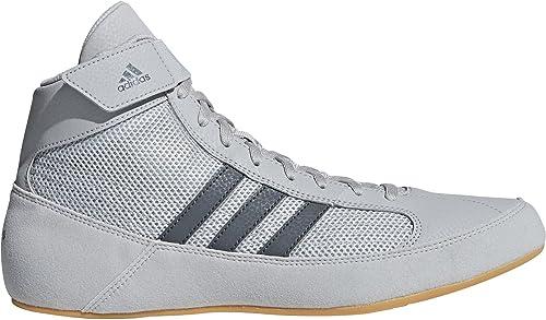 newest 667fe 42dab adidas Havoc Wrestling Shoes - Grey-6