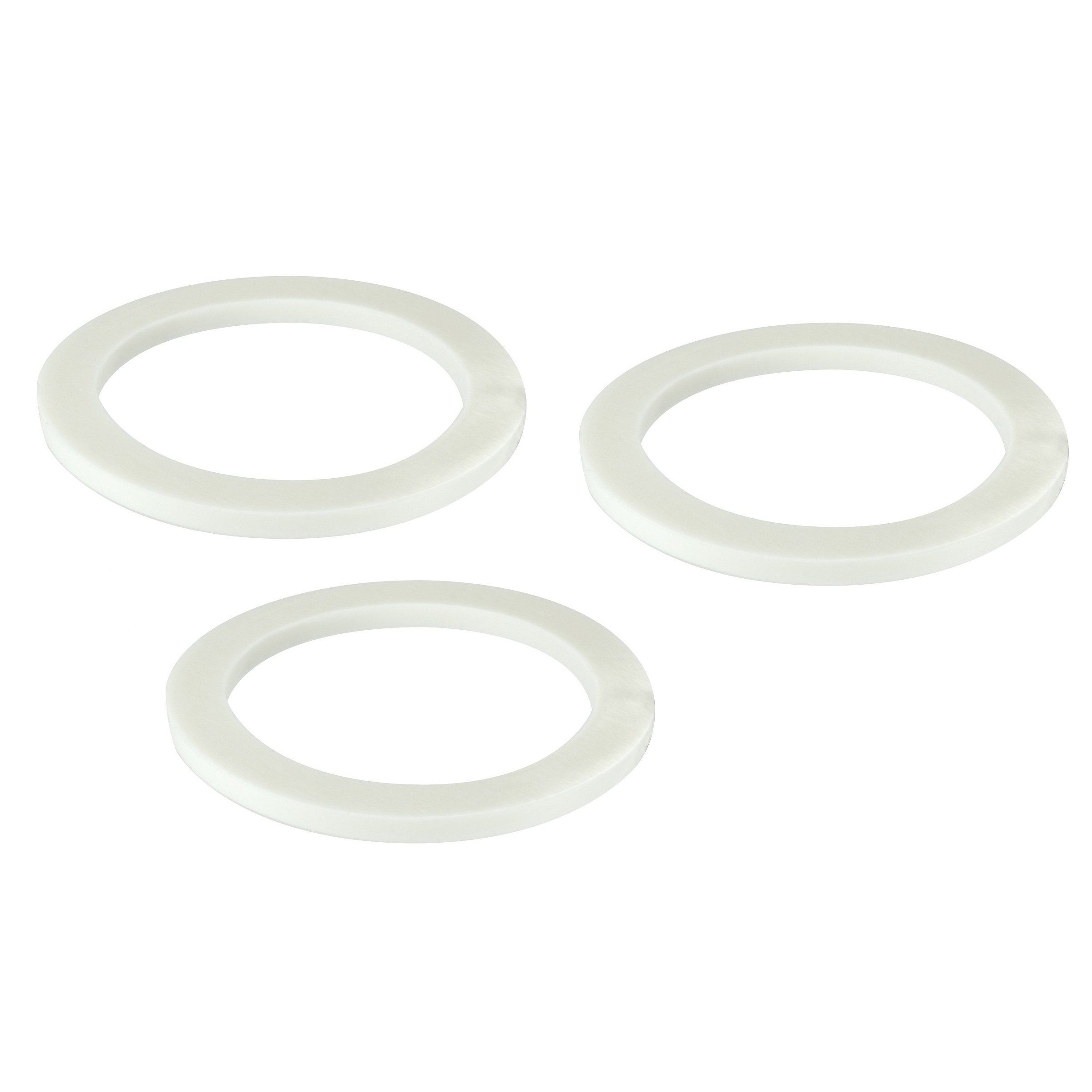 Univen Gasket for Stovetop Espresso Coffee Makers 6 Cup 3 PACK fits Bialetti, Imusa, BC, etc.